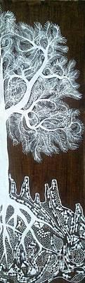 Warli Painting - Warli Art by Mayur Vayeda