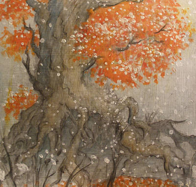 Shunned Painting - Warm December by Ralph Nixon Jr