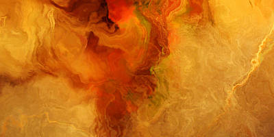 Warm Embrace - Abstract Art Print by Jaison Cianelli