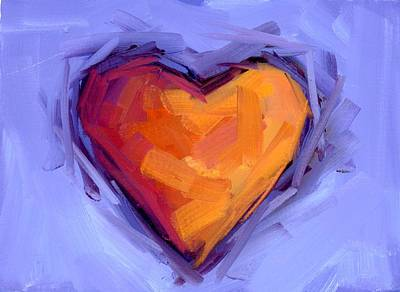 Painting - Warm Love by Mary Byrom