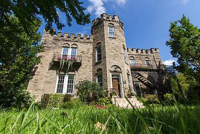 Warner Park Photograph - Warner Castle In Rochester Ny by Daniel Dangler