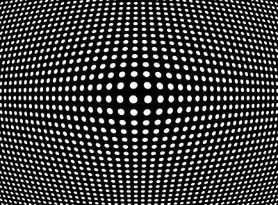 Gridlock Digital Art - Warped Space by Daniel Hagerman