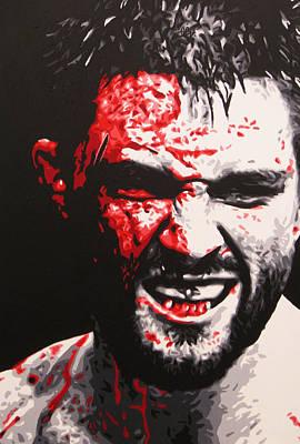 Ufc Painting - Warrior by Geo Thomson