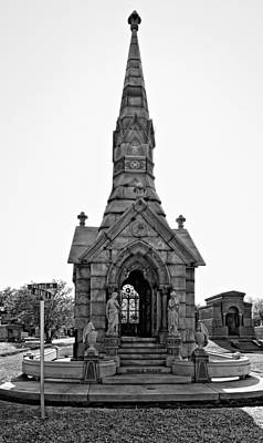 Metairie Cemetery Photograph - Was On Avenues Am  by Steve Harrington