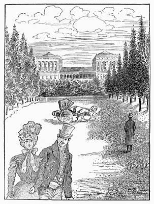 Washington D.c Drawing - Washington Capitol, 1814 by Granger