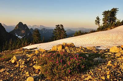 Washington, Cascade Mountains, Mount Print by Matt Freedman