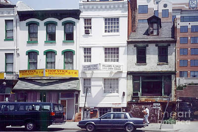 Washington Chinatown In The 1980s Print by Thomas Marchessault