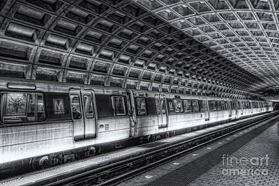 Washington Dc Metro Station Vi Print by Clarence Holmes