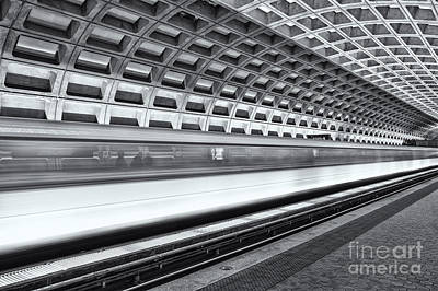 Washington Dc Metro Station Viii Print by Clarence Holmes