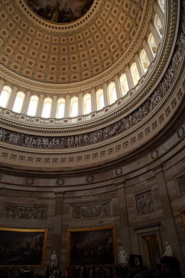 Washington Dc - Us Capitol - 011311 Print by DC Photographer