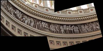 Washington Dc - Us Capitol - 011316 Print by DC Photographer