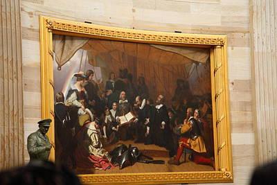 Washington Dc - Us Capitol - 011322 Print by DC Photographer