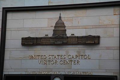 Detail Photograph - Washington Dc - Us Capitol - 01133 by DC Photographer