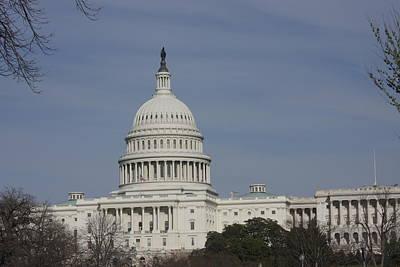 Americana Photograph - Washington Dc - Us Capitol - 01136 by DC Photographer
