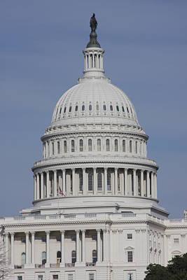 Detail Photograph - Washington Dc - Us Capitol - 01137 by DC Photographer