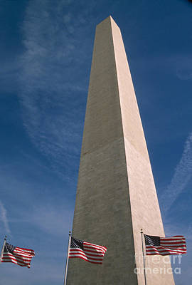 America Photograph - Washington Dc Washington Monument  by Anonymous