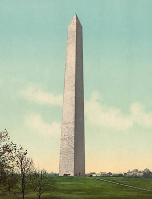 Washington Monument Painting - Washington Monument, C1903 by Granger