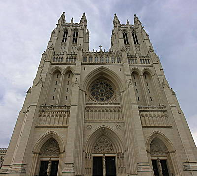 Christ Photograph - Washington National Cathedral - Washington Dc - 01131 by DC Photographer