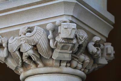 God Photograph - Washington National Cathedral - Washington Dc - 011310 by DC Photographer
