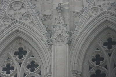 Glasses Photograph - Washington National Cathedral - Washington Dc - 0113110 by DC Photographer