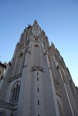 Atlantic Photograph - Washington National Cathedral - Washington Dc - 0113121 by DC Photographer