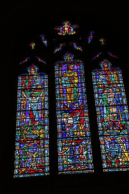 Religion Photograph - Washington National Cathedral - Washington Dc - 011313 by DC Photographer