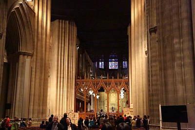 Architectural Photograph - Washington National Cathedral - Washington Dc - 011335 by DC Photographer