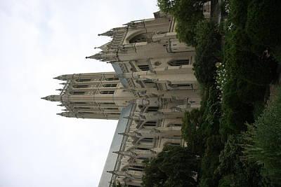Arch Photograph - Washington National Cathedral - Washington Dc - 011350 by DC Photographer