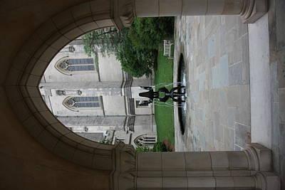 Washington National Cathedral - Washington Dc - 011359 Print by DC Photographer