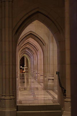 Gothic Photograph - Washington National Cathedral - Washington Dc - 01136 by DC Photographer