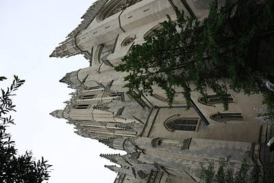 Gothic Photograph - Washington National Cathedral - Washington Dc - 011361 by DC Photographer