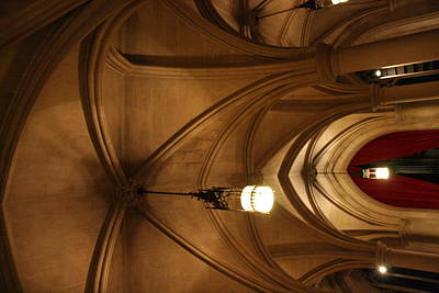 Hall Photograph - Washington National Cathedral - Washington Dc - 011374 by DC Photographer