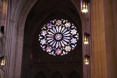 Washington National Cathedral - Washington Dc - 011379 Print by DC Photographer