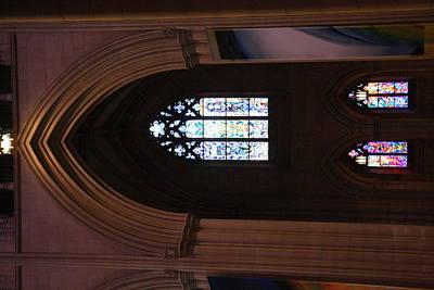 Washington National Cathedral - Washington Dc - 011387 Print by DC Photographer