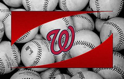Washington Nationals Print by Joe Hamilton