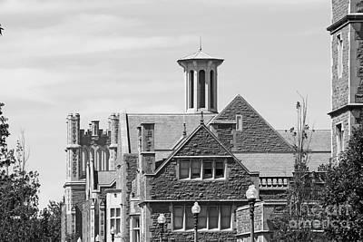 Washington University Gables Print by University Icons