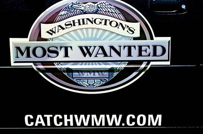 Washington's Most Wanted Print by Tikvah's Hope