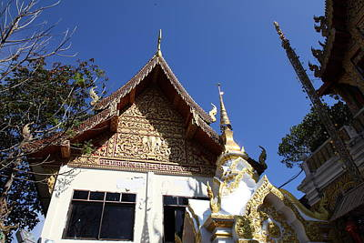 Thailand Photograph - Wat Phrathat Doi Suthep - Chiang Mai Thailand - 01137 by DC Photographer