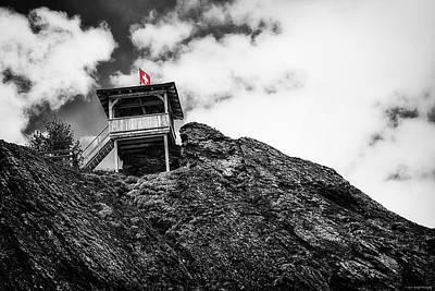 Watch Tower Print by Ryan Wyckoff