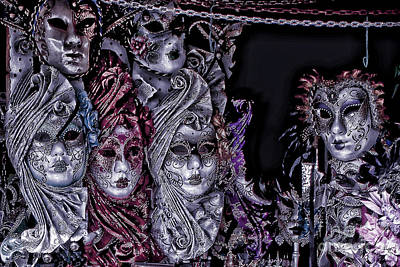 Venecia Photograph - Watching You Venice Italy by Tom Prendergast