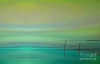 Photograph - Water Abstract Aurora  by Andrea Kollo
