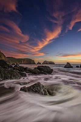 Sausalito Photograph - Water And Fire by Rick Berk
