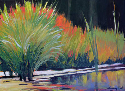 Painting - Water Garden by Melody Cleary