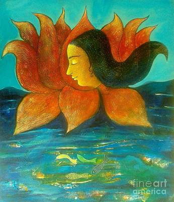 Painting - Water Life by Sanjay Punekar