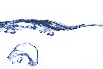 Wave - Splash Print by Michal Boubin