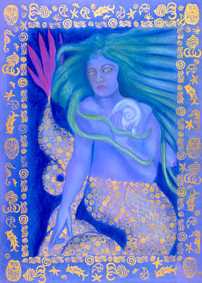 Water Spirit Print by Diana Perfect