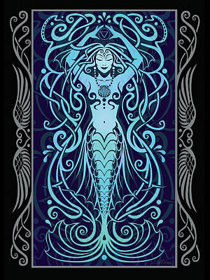 Water Spirit V.2 Print by Cristina McAllister