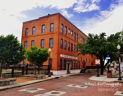 Water Street Building Wilmington Original by Amy Lucid