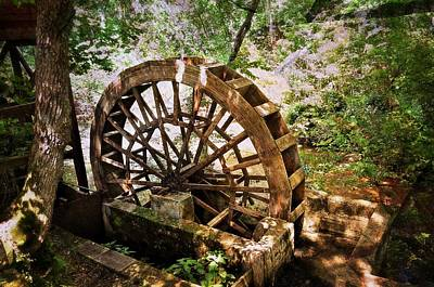 Water Wheel Print by Marty Koch