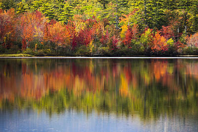 Reflection Harvest Photograph - Watercolors by Kyle Wasielewski